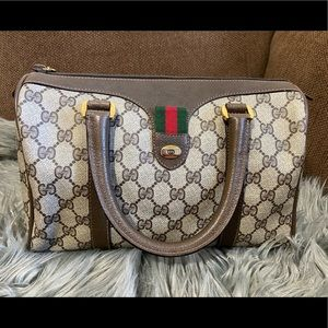 -SOLD- Vintage Gucci Ophidia Boston Bag
